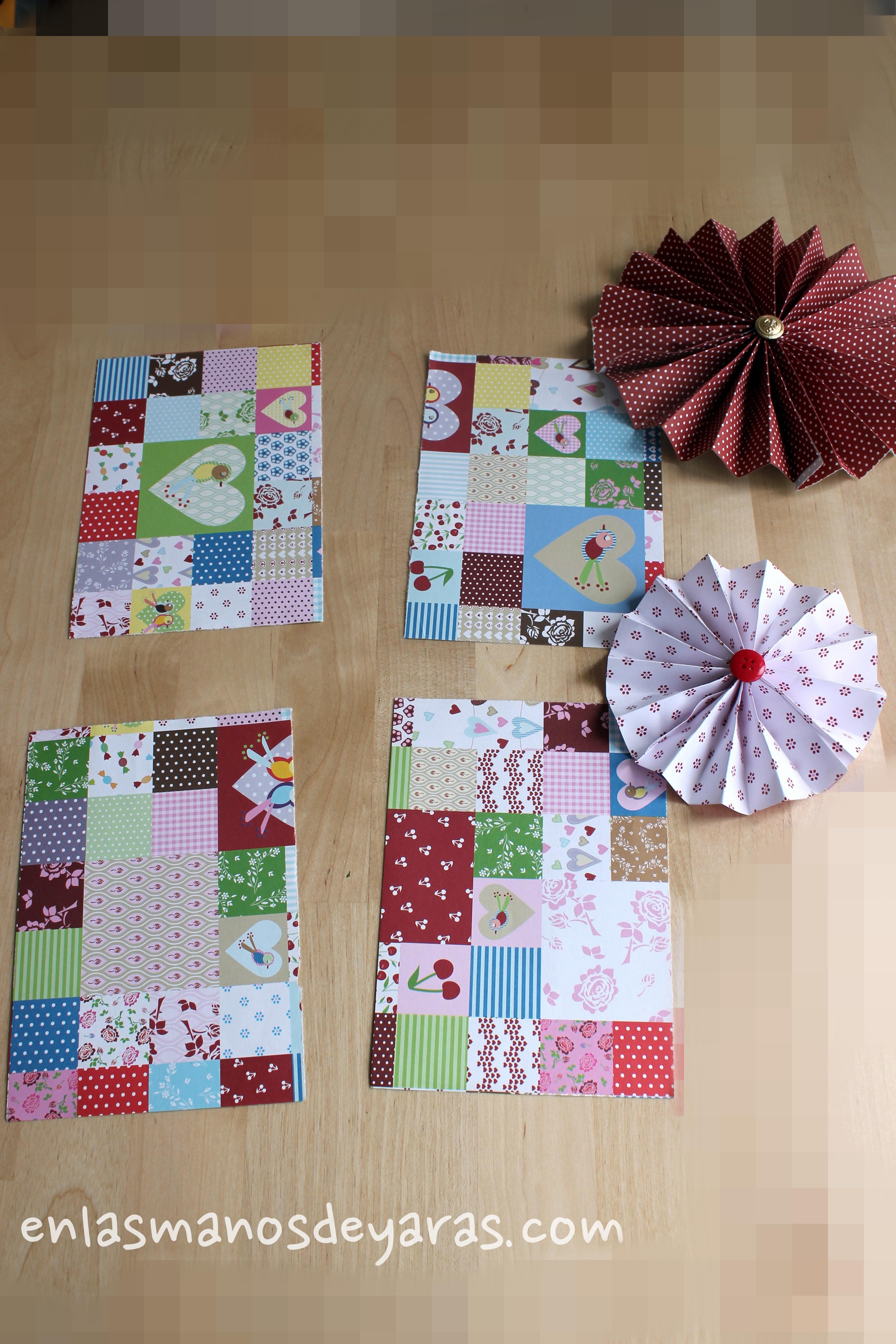 Flores de papel para decorar en las manos de yaras - Papel para decorar ...
