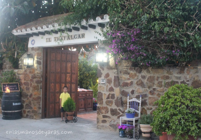el trafalgar en la entrada