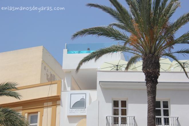 piscina hotel de cadiz
