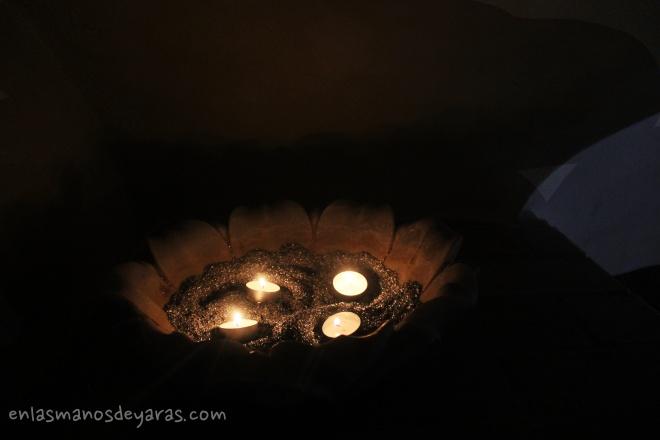 luces en el jardín del califa