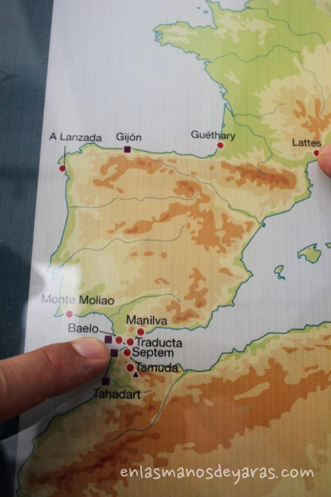 mapa Baelo clauidia
