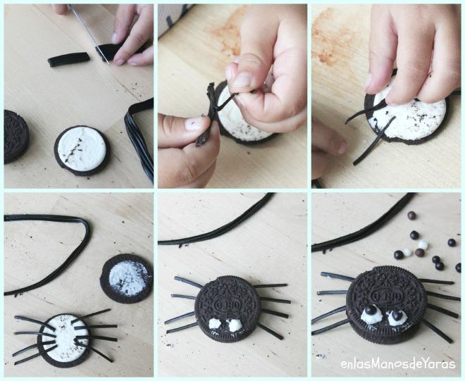 arañas DIY