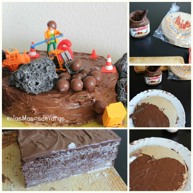 collage tarta